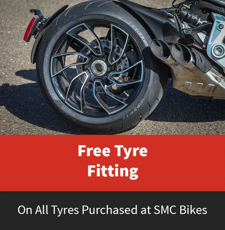 Free Tyre Fitting at SMC Bikes